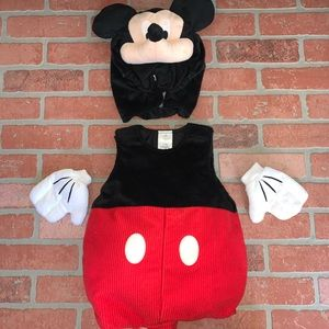 Disney Store Mickey Mouse Costume 12-18 Months